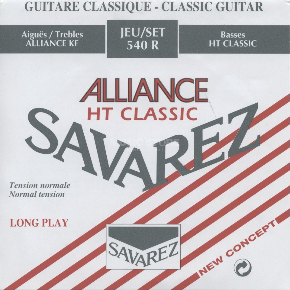 Savarez K-Git. Saiten 540R Alliance Carbon, Normal Tension Produktbild