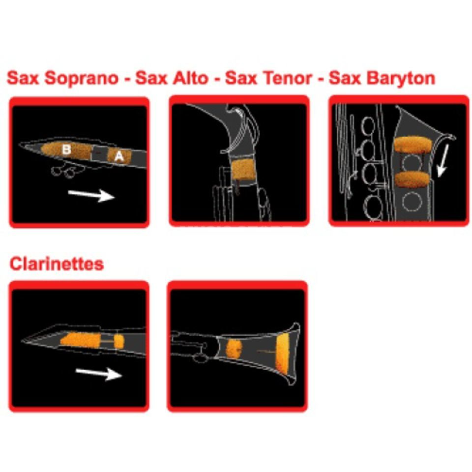 Saxmute Tenor Saxophone Mute Product Image