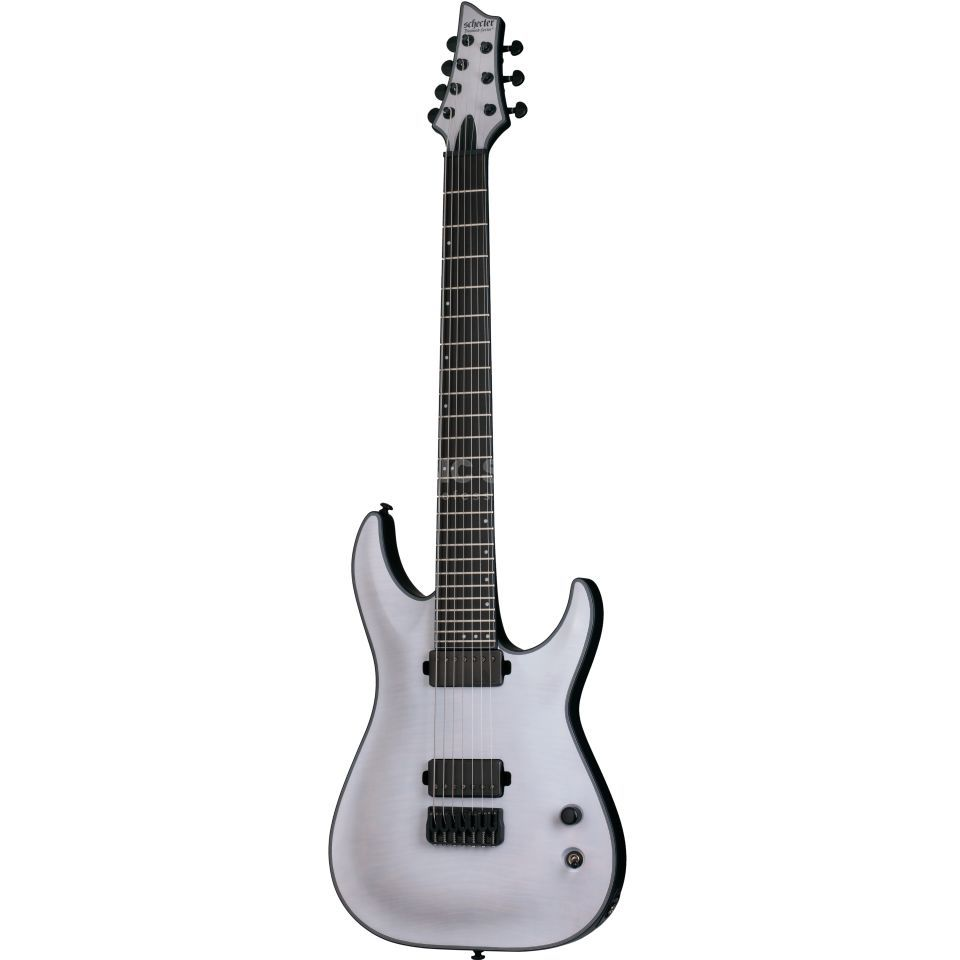 Schecter Keith Merrow KM-7 Trans White Satin Product Image