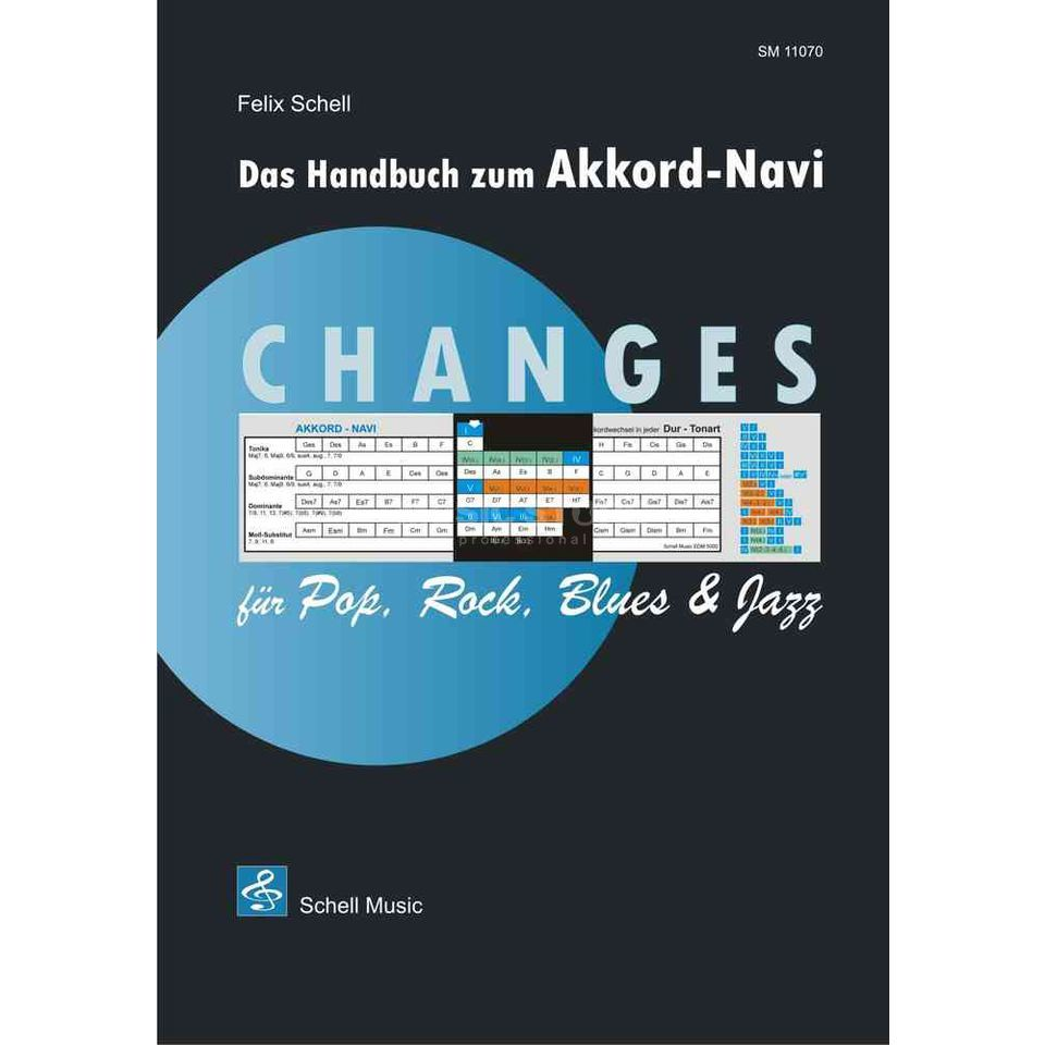 Schell Music Changes für Rock, Pop, Blues & Jazz inkl. Akkord-Navi Produktbild