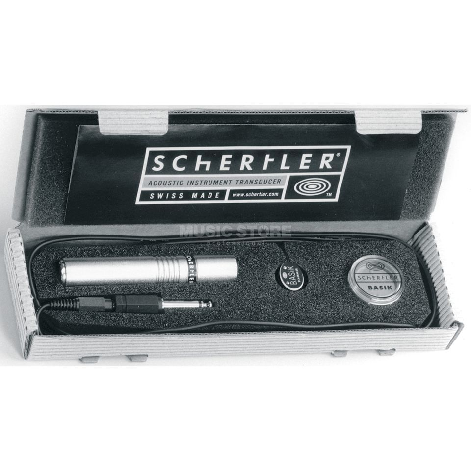 Schertler Basik Pro with Phantom Power Produktbillede