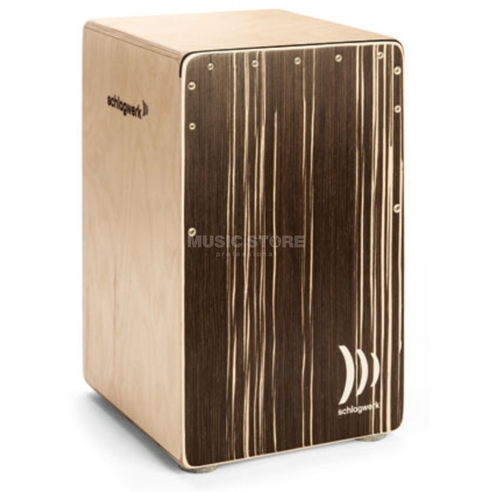 Schlagwerk Cajon Agile Pro CP 562 ST, Soft Touch, Cappuccino Produktbillede