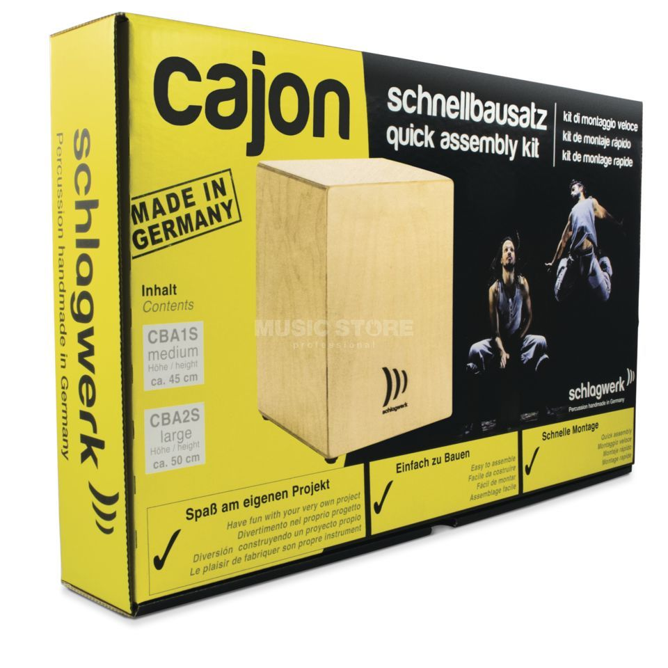 Schlagwerk Cajon Assembly Kit CBA 1S, medium Produktbillede