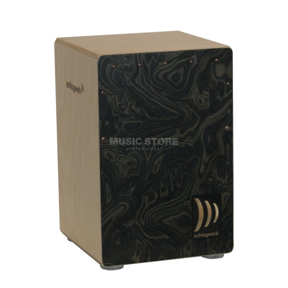 Schlagwerk Cajon la Peru CP4006, Night Burl medium Productafbeelding