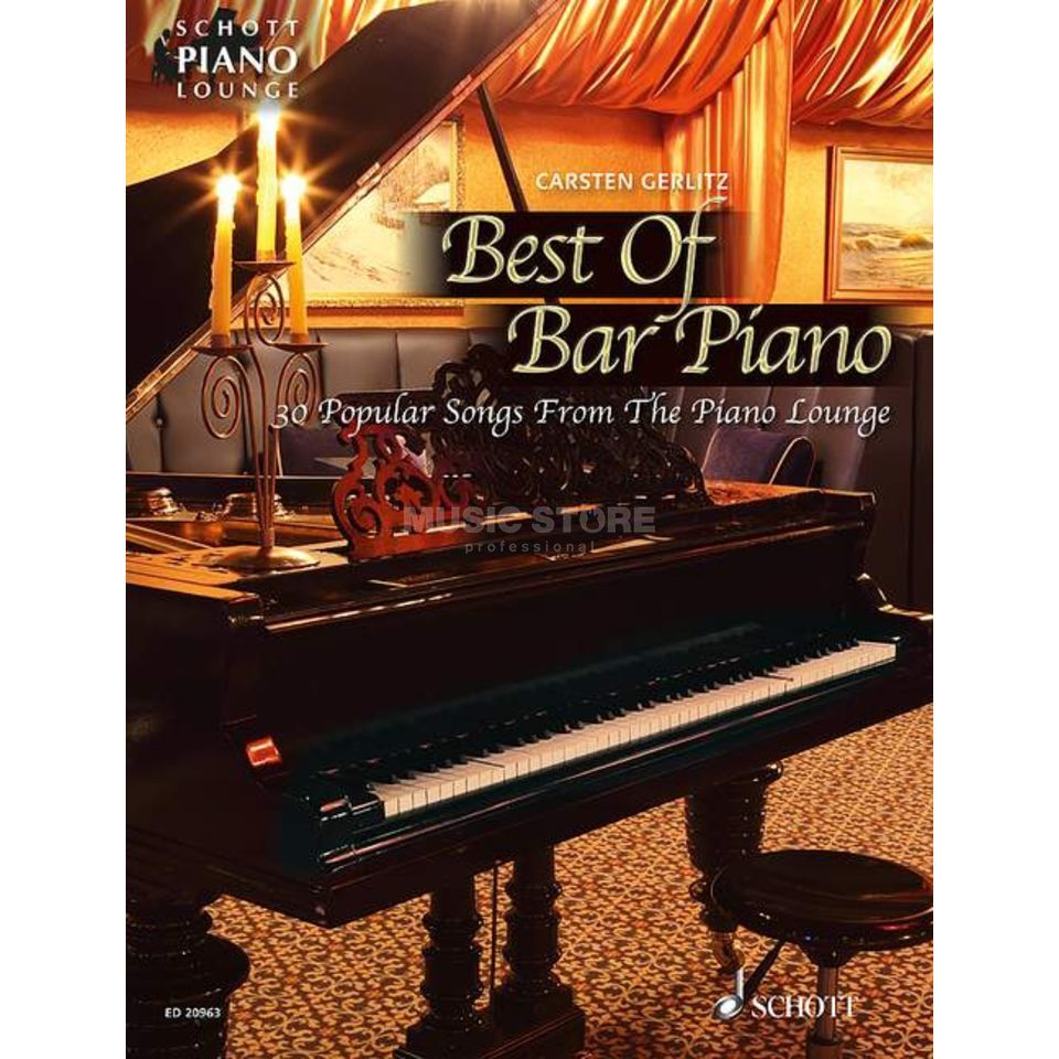 Schott Music Best Of Bar Piano Produktbillede