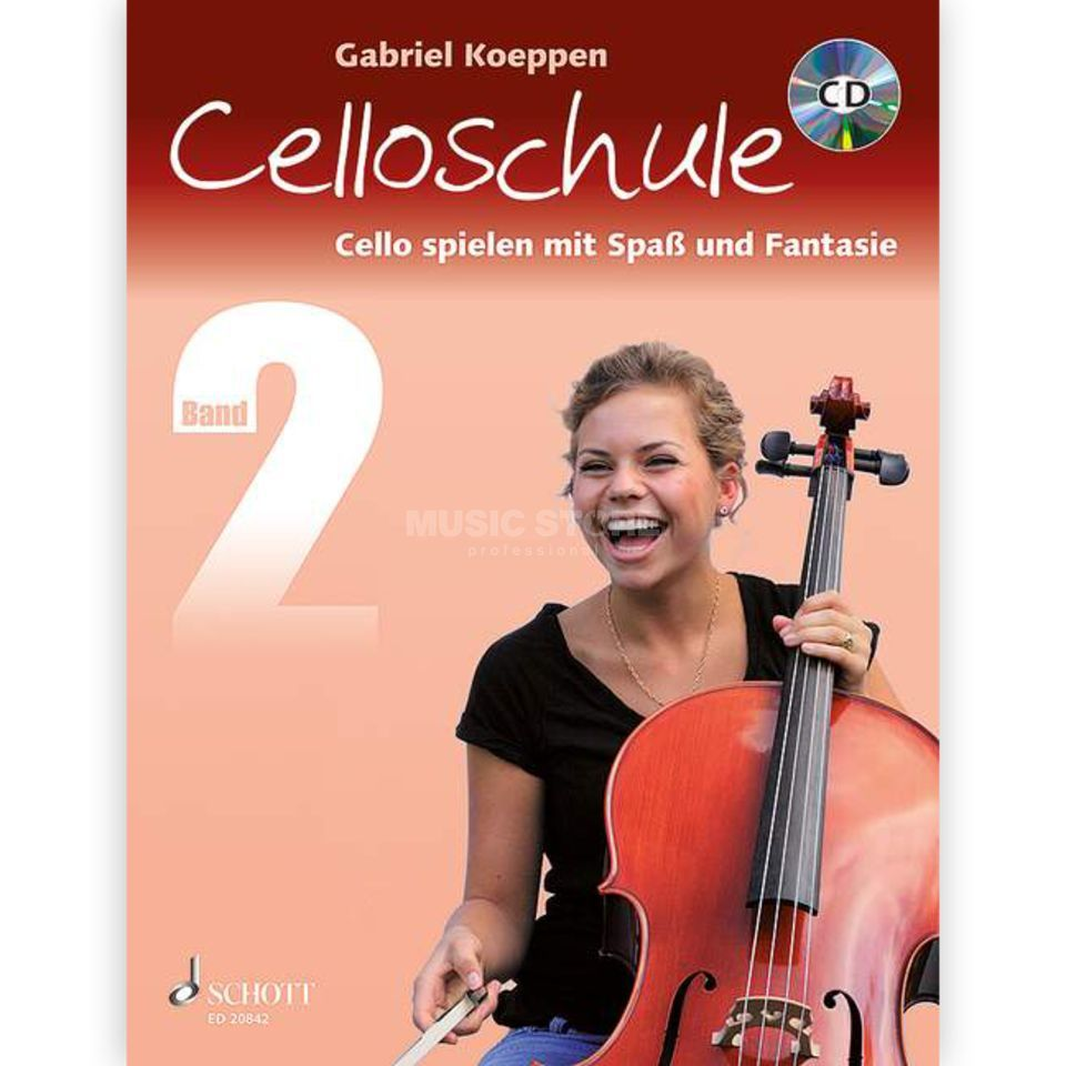 Schott Music Celloschule 2 Product Image