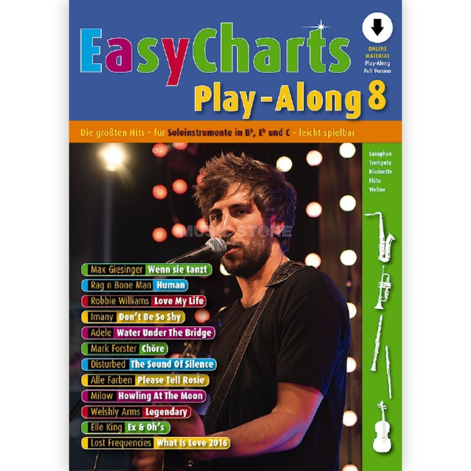 Schott Music Easy Charts 8 Play-Along Product Image
