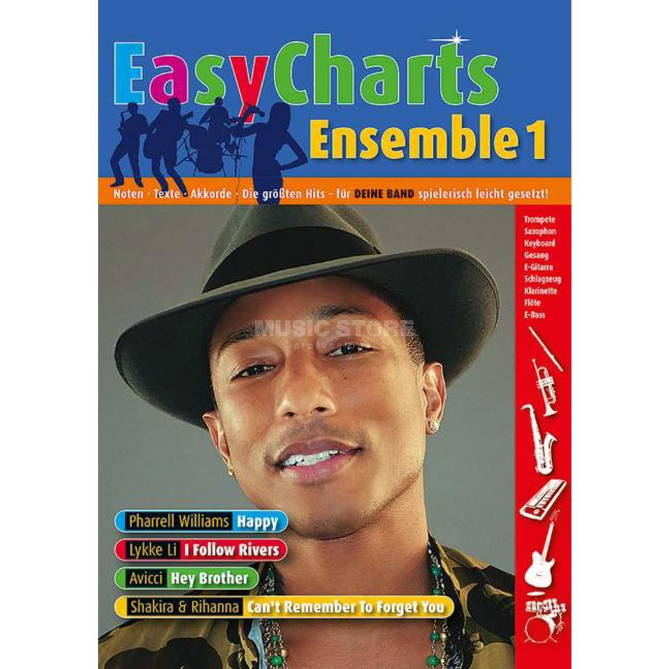 Schott Music Easy Charts Ensemble 1 Produktbild