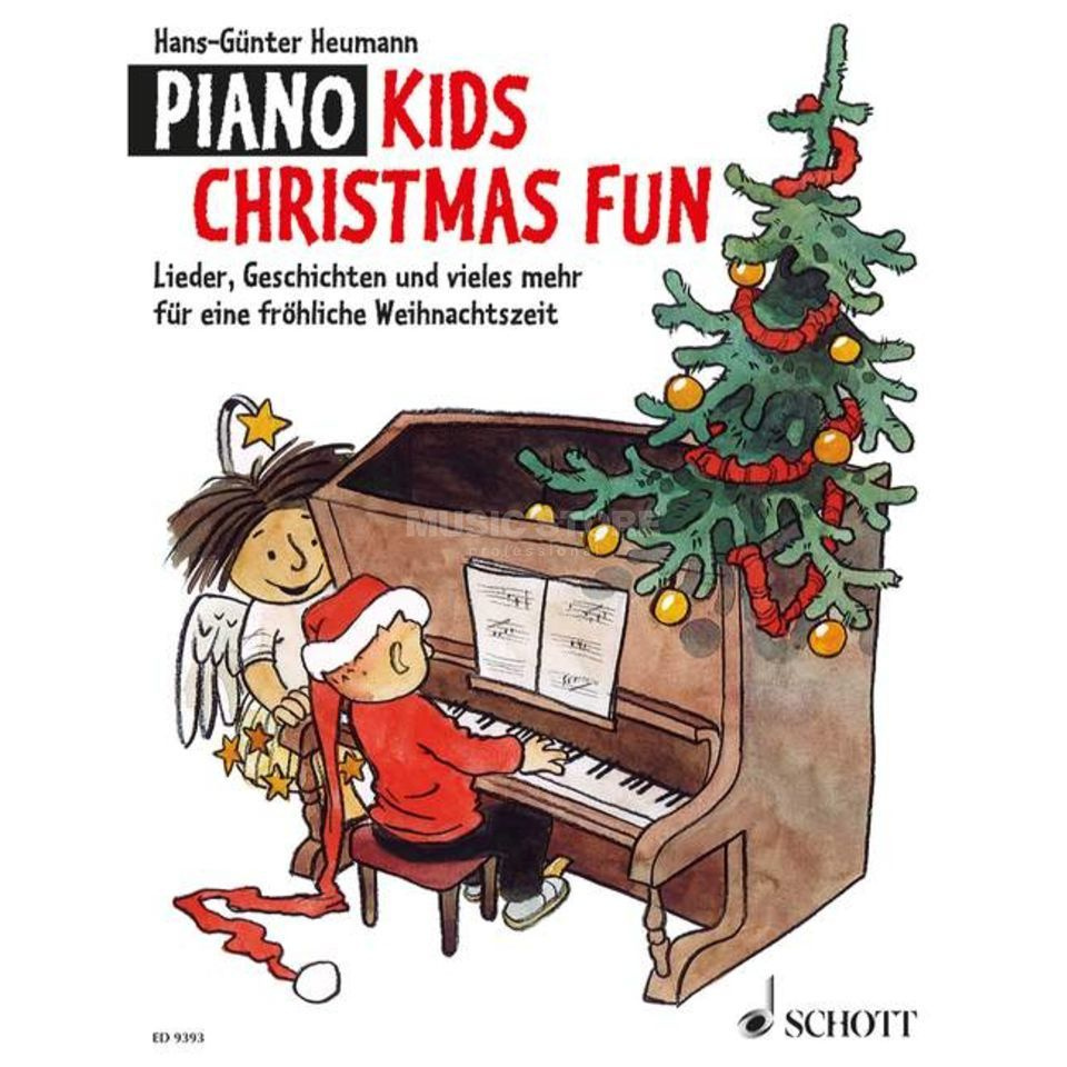 Schott Music Piano Kids Christmas Fun Produktbillede