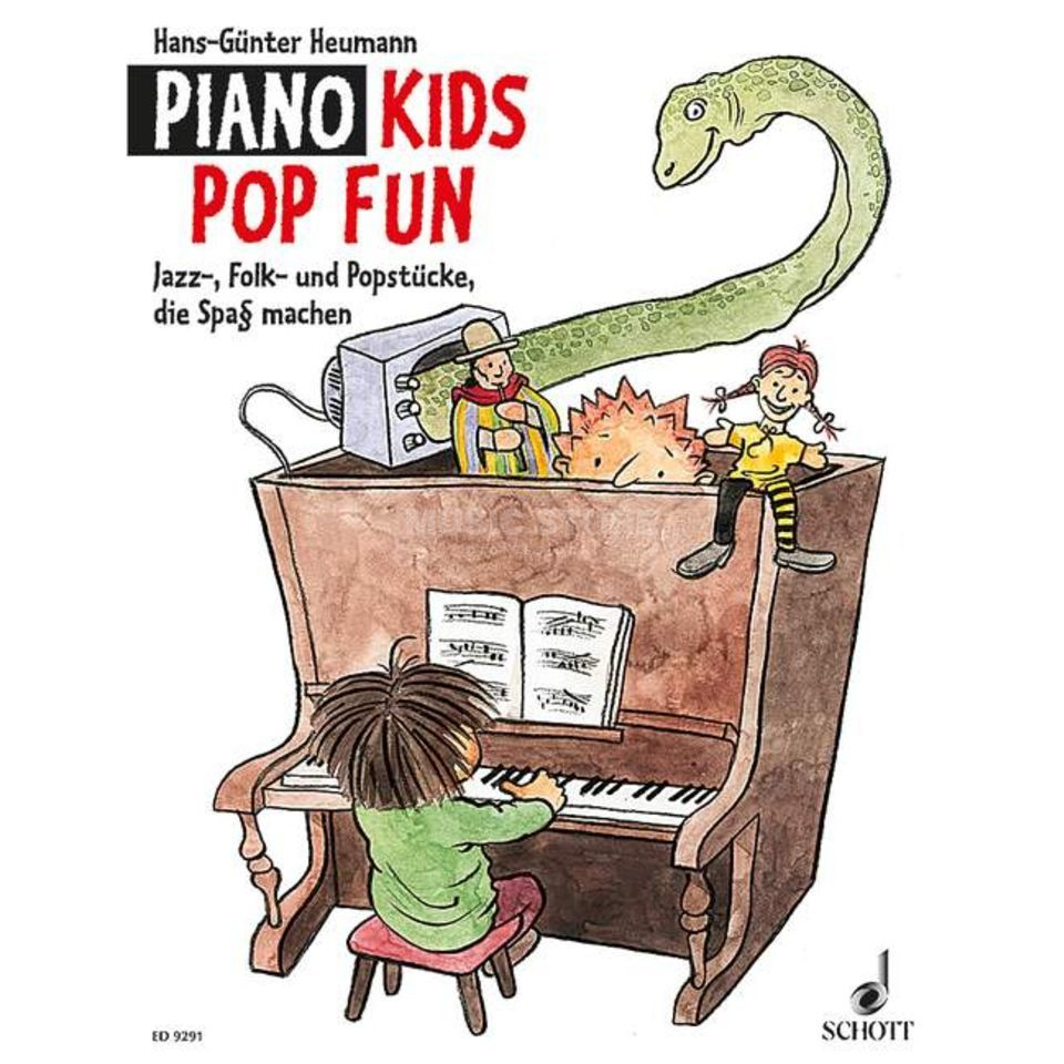 Schott Music Piano Kids Pop Fun Hans-Günter Heumann, Buch Produktbild