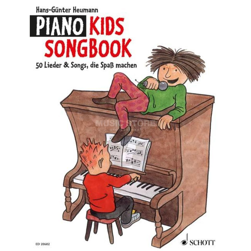 Schott Music Piano Kids Songbook Hans-Günter Heumann, Buch Product Image