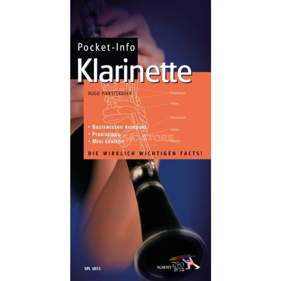 Schott Music Pocket-Info Klarinette Basiswissen im Mini-Lexikon Product Image
