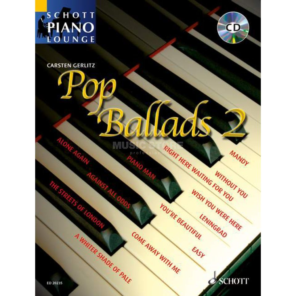 Schott Music Pop Ballads - Band 2 Product Image