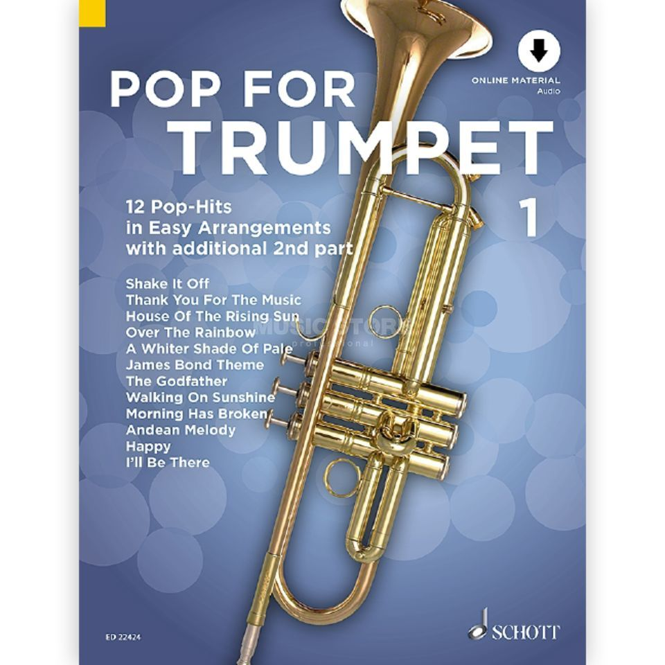 Schott Music Pop For Trumpet 1 Productafbeelding