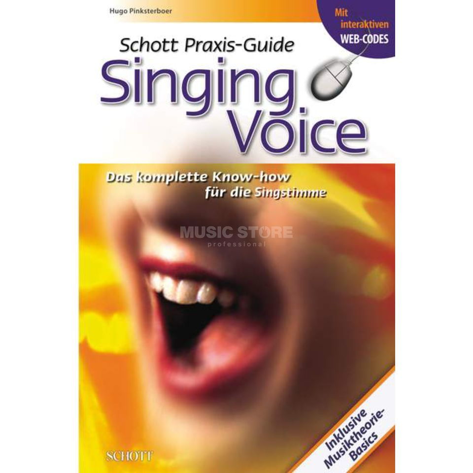 Schott Music Praxis-Guide Singing Voice Pinksterboer, Hugo Product Image
