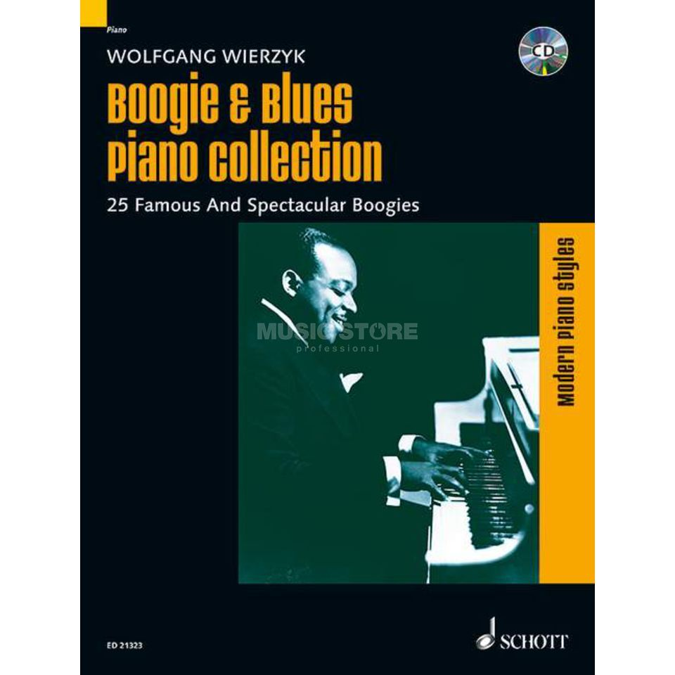 Schott-Verlag Boogie & Blues Piano Collection Produktbild