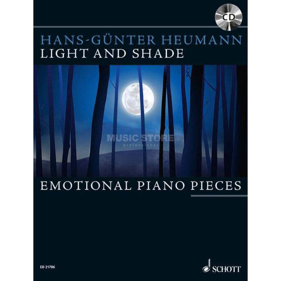 Schott-Verlag Light And Shade Heumann, Klavier, inkl. CD Produktbild