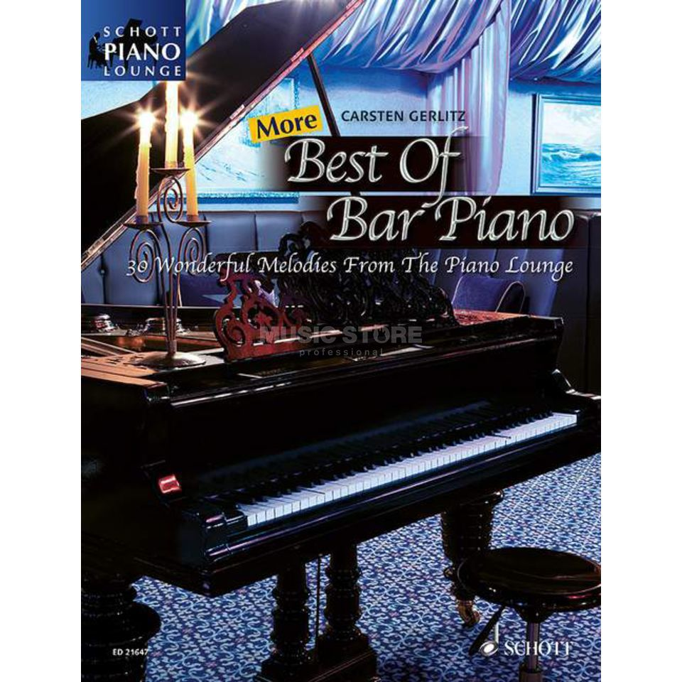 Schott-Verlag More Best Of Bar Piano Produktbild