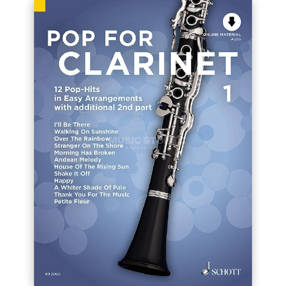 Schott-Verlag Pop For Clarinet 1 Produktbillede