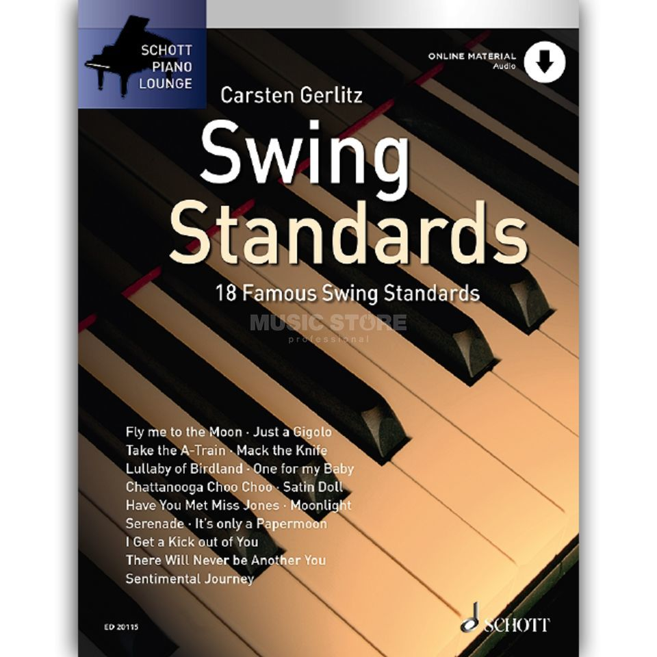 Schott-Verlag Swing Standards Produktbillede