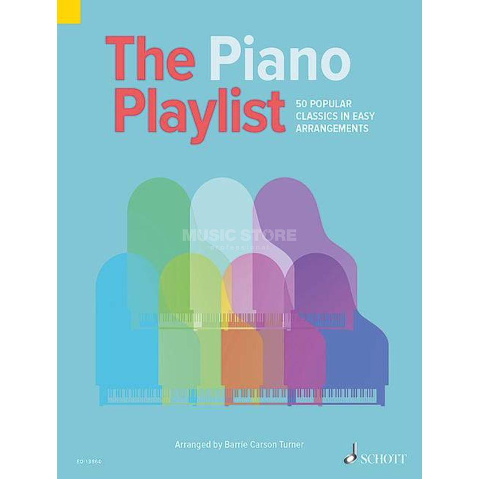 Schott-Verlag The Piano Playlist Produktbild