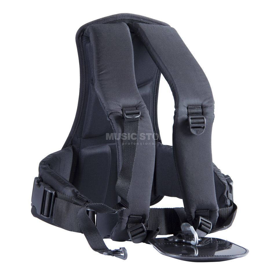 Schwarz Tuba Carrying Strap with Back Predector Product Image