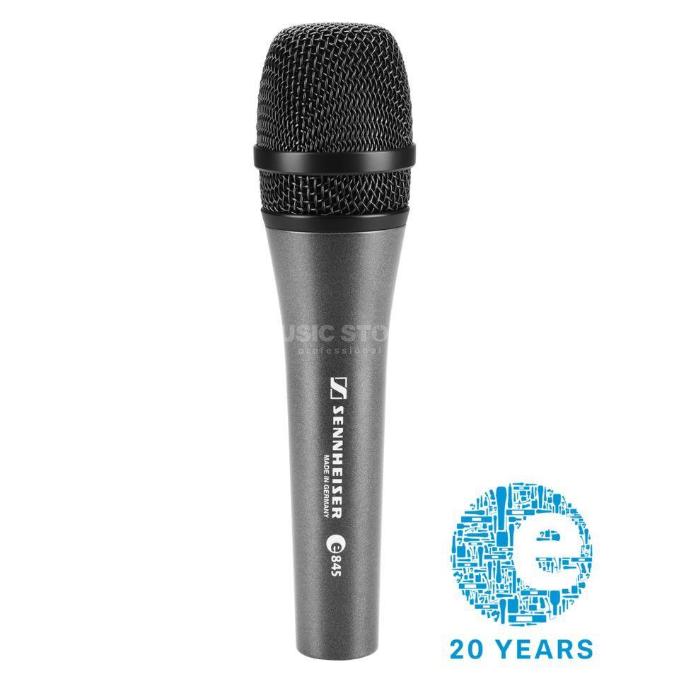 sennheiser e 845 supercardioid dynamic vocal microphone dv247 en gb. Black Bedroom Furniture Sets. Home Design Ideas