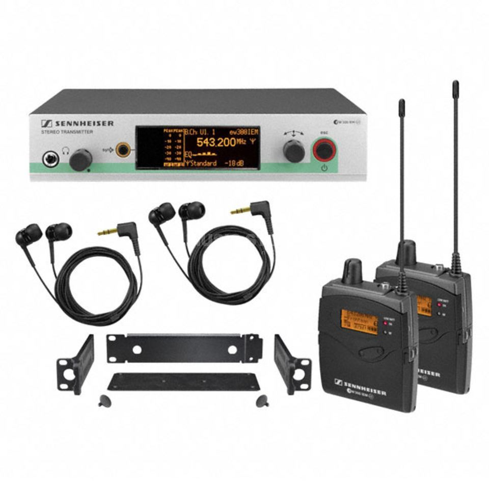 Sennheiser ew 300-2 IEM-B G3 Wireless Monitor Set, 2x EK300 Produktbild