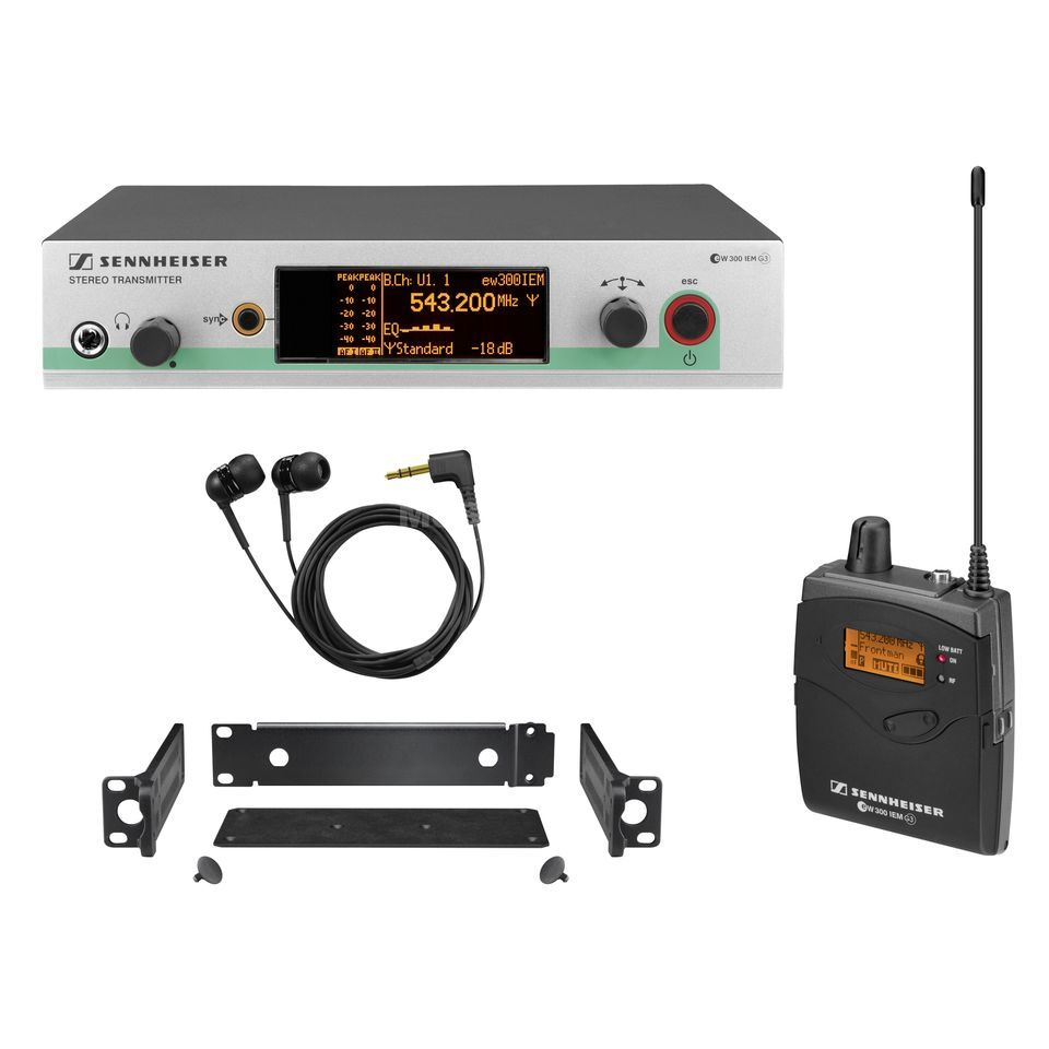 Sennheiser ew 300 IEM-A G3,  516-558MHz Wireless Monitor Set Produktbild