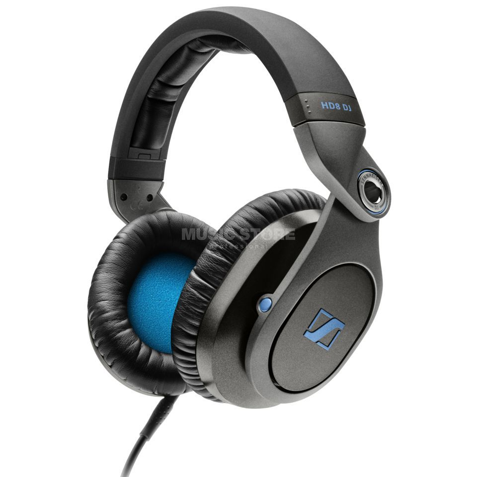 Sennheiser HD 8 DJ Headphones Closed 95 ohm, over-ear Product Image