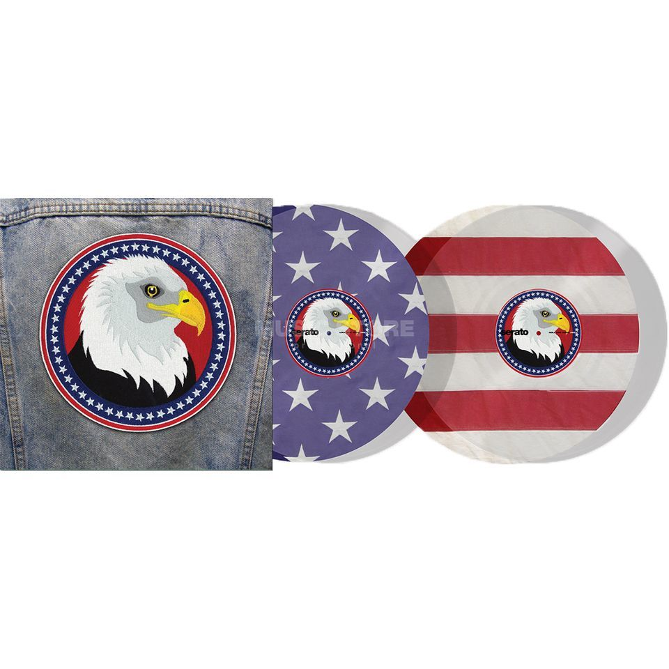 Serato Control Vinyl USA Country (Limited Edition) Product Image