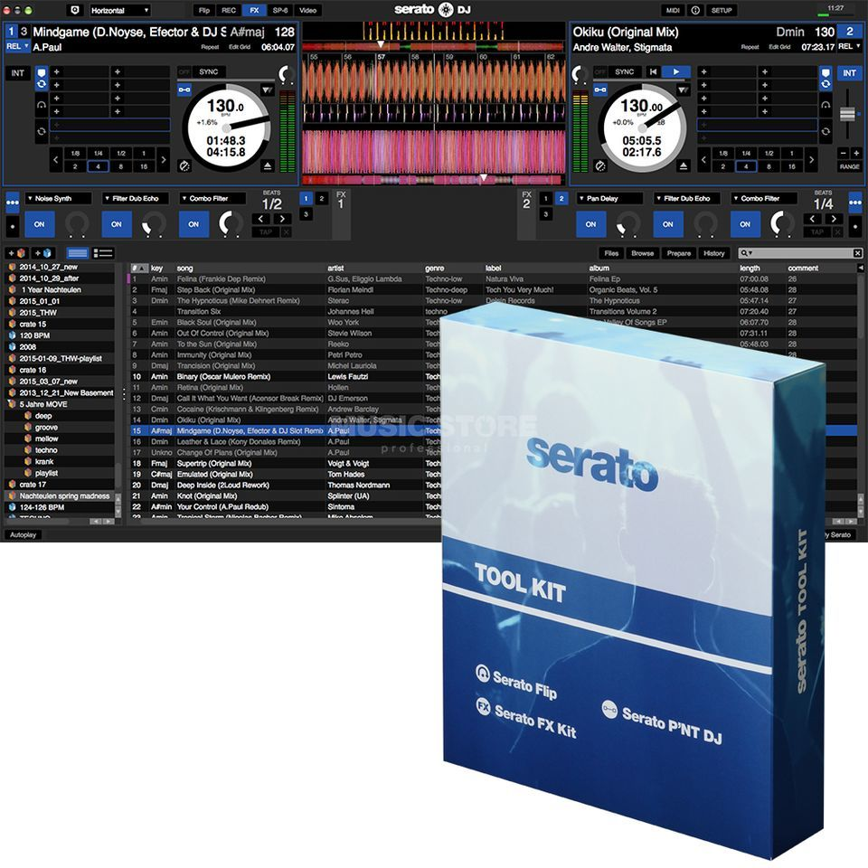 Serato DJ Tool Kit Product Image