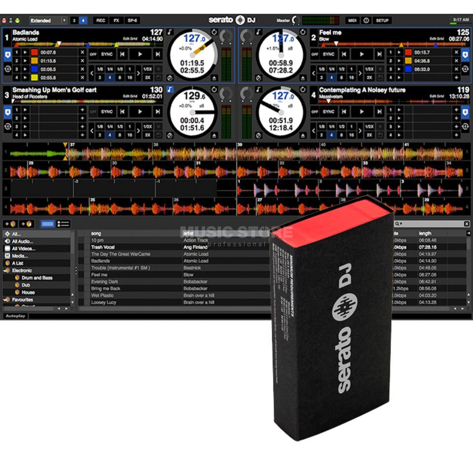 Serato Serato DJ Software (Box) Upgrade für Serato Intro Produktbild