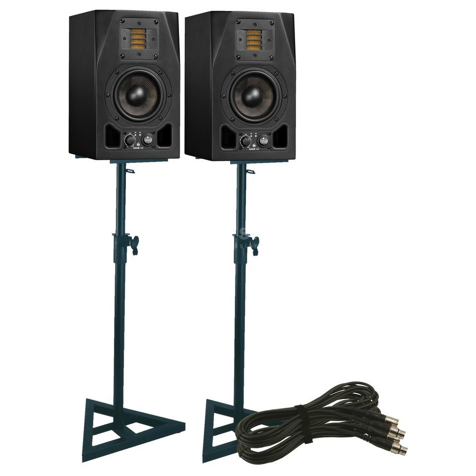 SET ADAM A3X + DB 039 Monitor Stand SET Produktbillede