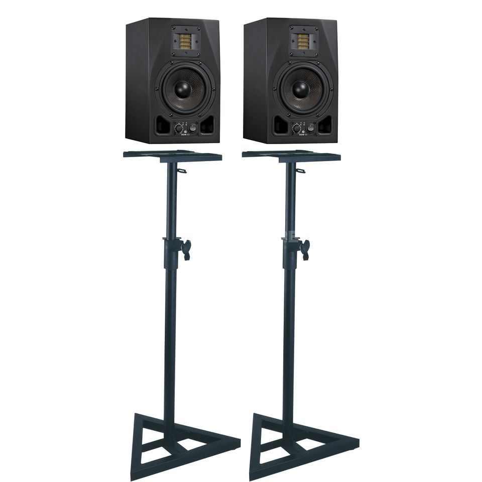 SET ADAM A5X + DB 039 Monitor Stand SET Produktbild
