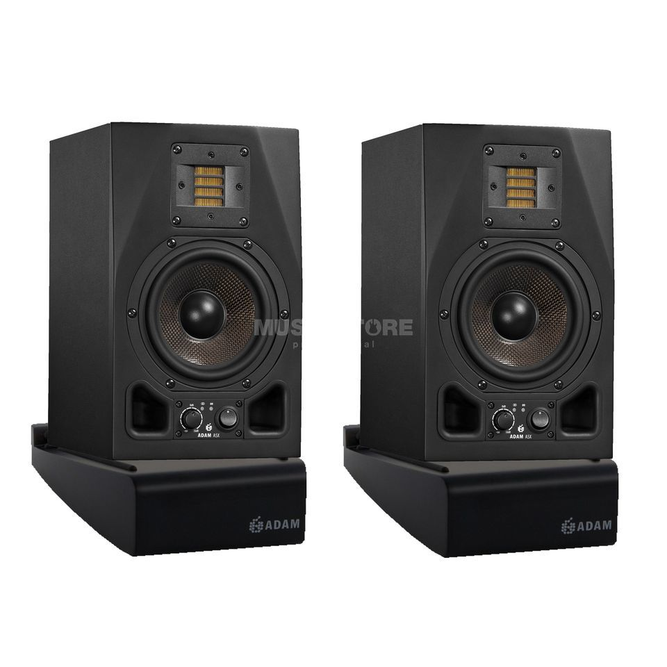 SET ADAM AUDIO A5X  Desktop Set 2x A5X, 2x Desktop Stand Produktbild