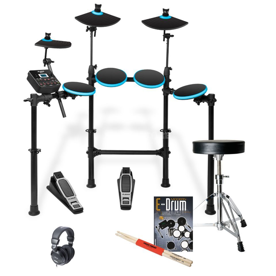 SET ALESIS DM Lite E-Drum Bundle, inkl. Hocker, Kopfh. & Noten Produktbild