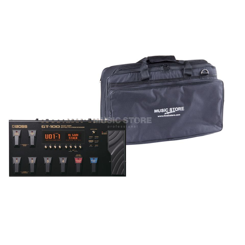 SET BOSS GT-100 + Rockbag RB23060B  Produktbild