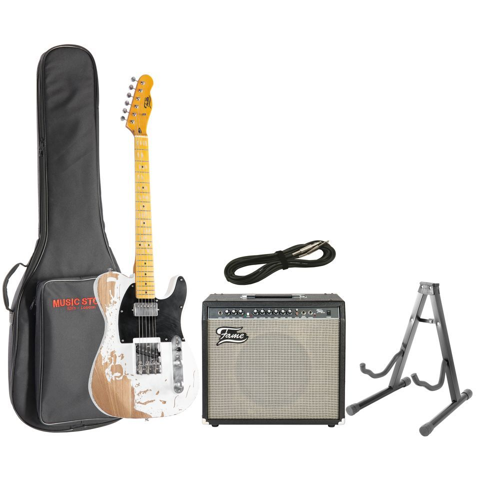 SET DR-100 NT Natural + Bag + Tuner + Stand Produktbild