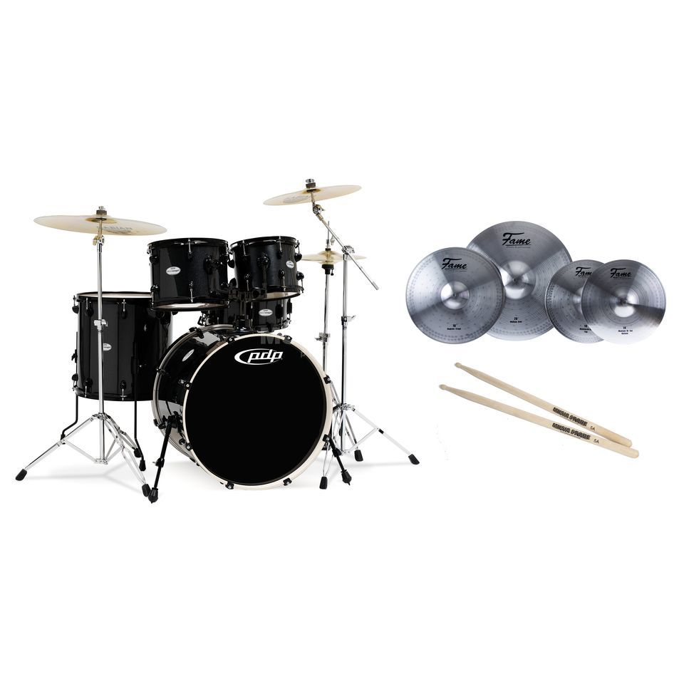 SET DW PDP Mainstage Black Bundle  Produktbillede