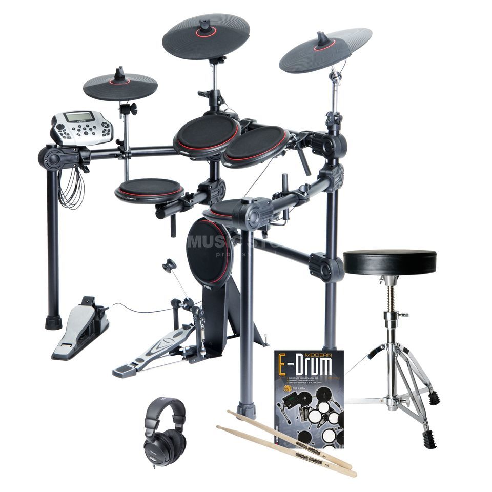 SET FAME DD-5500 PRO Bundle, inkl. Hocker, Kopfh. & Noten Produktbild