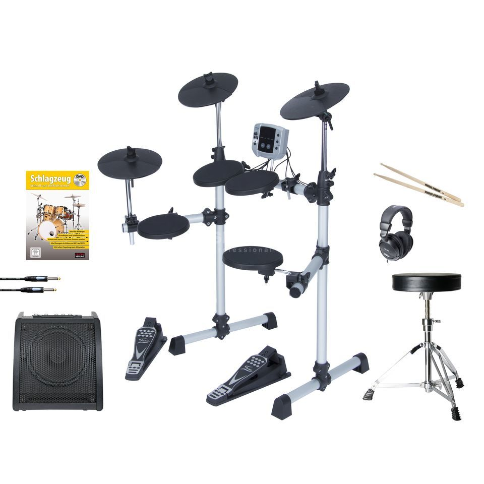 "SET FAME DD Lite E-Drum Komplett-Bundle ""Entry"" Produktbild"