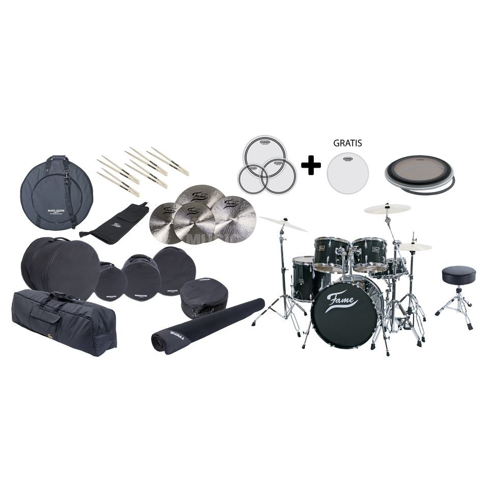 "SET Fame Maple ""Ready To Rock"" All-Inclusive Package Produktbillede"