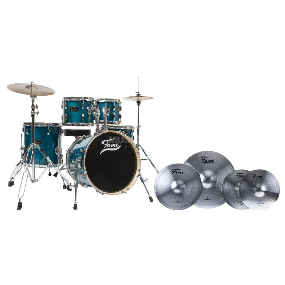 SET Fame Maple Standard Jungle #TR inkl. Reflex Beckensatz Produktbild
