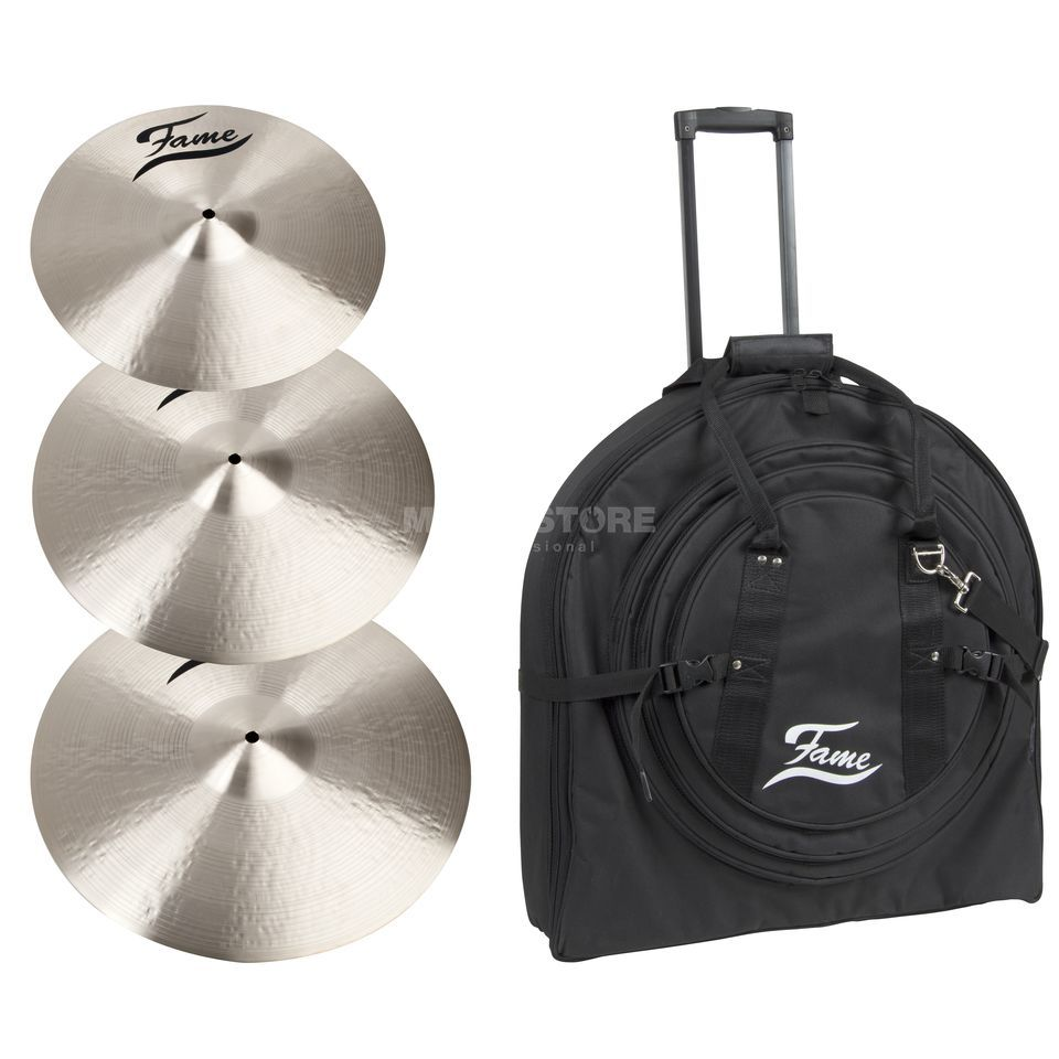 "SET FAME Masters B20 Thin Crash Pack, 14"", 16"" & 18"" Produktbild"