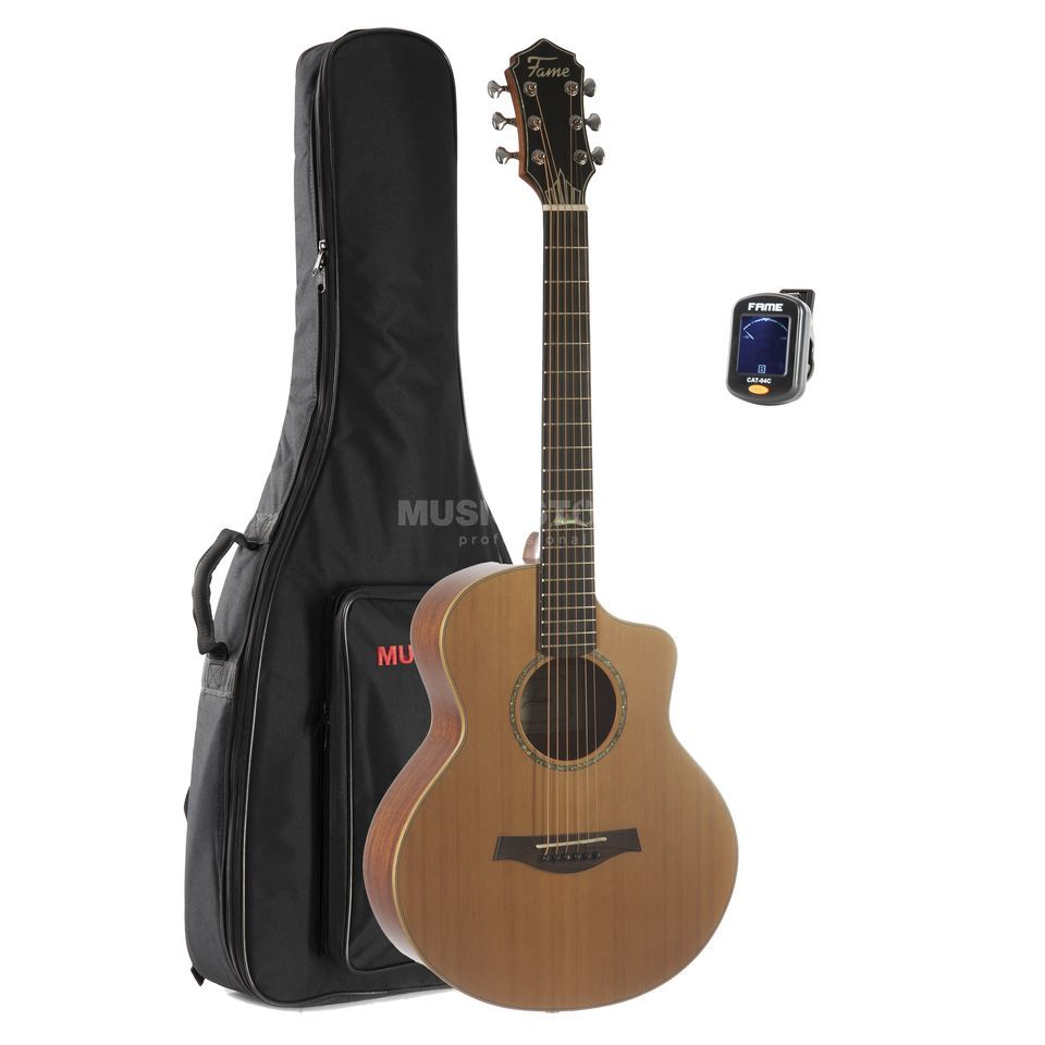 SET Fender ESC 80 3/4 incl. Bag + Tuner + Stand + Book Produktbillede