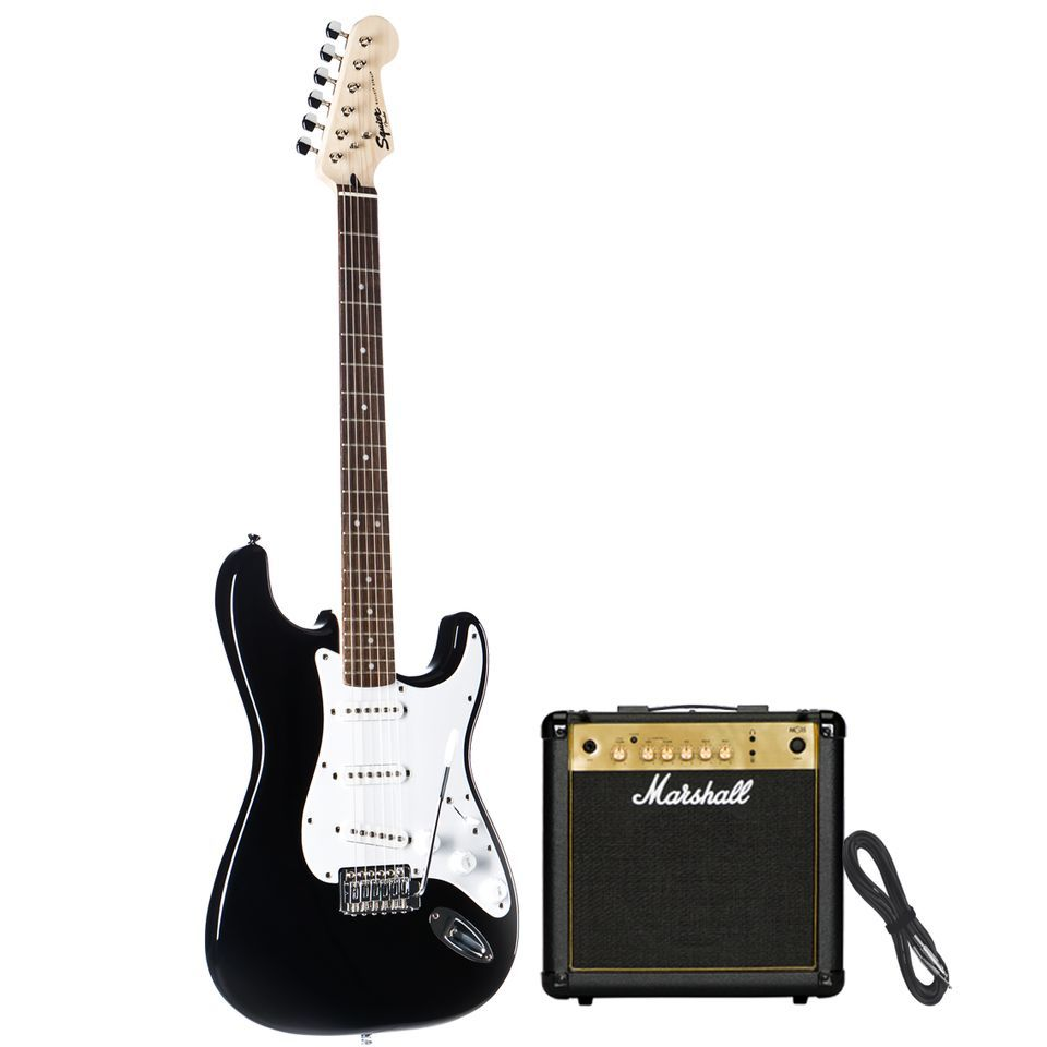 SET Fender ESC105 incl. Bag  + Tuner + Book + Stand Produktbild