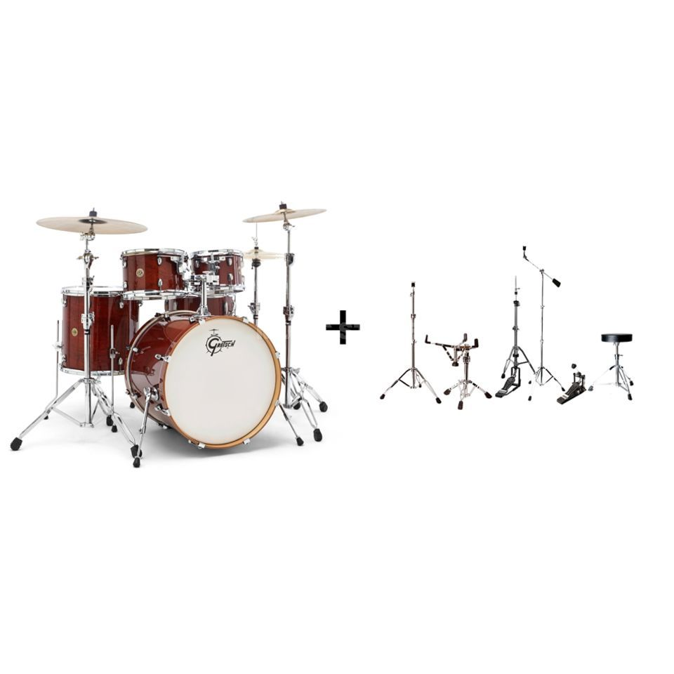 SET GRETSCH Catalina Maple, inkl. Hardware Pack & Throne Produktbild