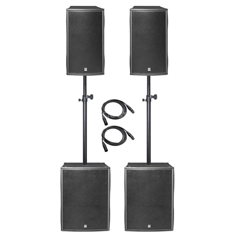 SET HK Audio Pulsar PL 112 PA Basis Set Produktbild