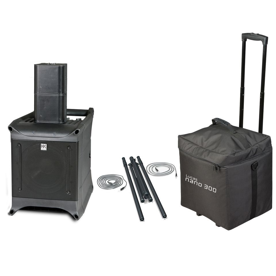 SET HK Lucas Nano 300 inkl. Add on One und Roller Bag Produktbild